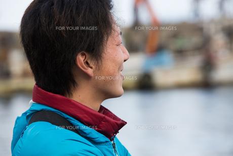 作業する漁師の素材 [FYI01030453]
