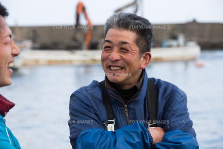 作業する漁師の素材 [FYI01030476]