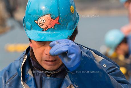 作業する漁師の素材 [FYI01030613]