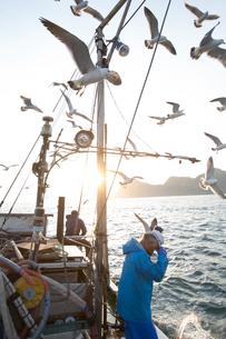 定置網漁の男性の素材 [FYI01030638]