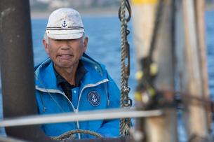 定置網漁の男性の素材 [FYI01030751]