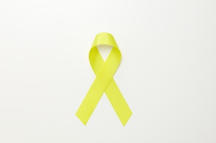 黄色いリボンの素材 [FYI01031973]