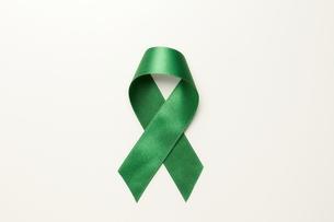 緑リボンの素材 [FYI01032059]