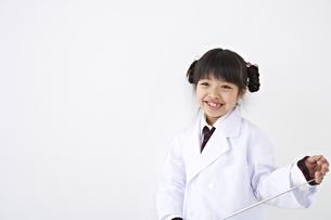 白衣の少女の素材 [FYI01032110]