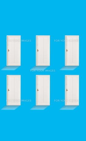 6つのドアの素材 [FYI01032414]