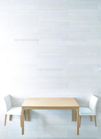 リビングのテーブルと椅子の素材 [FYI01033256]