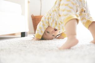 遊んでいる赤ちゃんの素材 [FYI01033562]