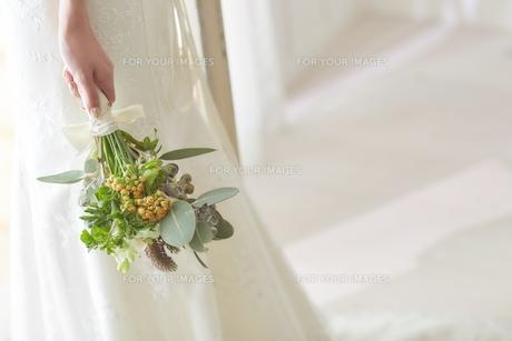 花嫁のブーケの素材 [FYI01034000]