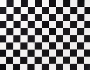 黒と白のタイルの素材 [FYI01034130]