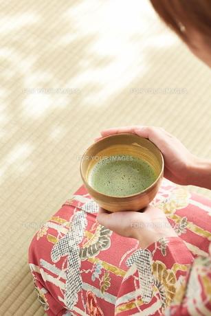 茶道とお茶のイメージの素材 [FYI01034357]