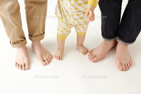 三人の家族の素材 [FYI01034371]