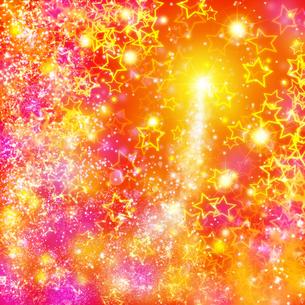星と光の素材 [FYI01038754]