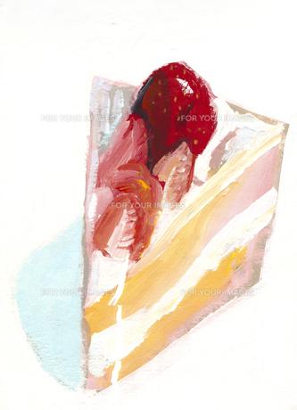 苺のショートケーキの素材 [FYI01040738]