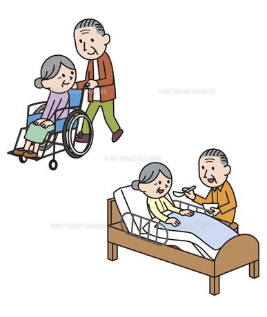 高齢者による高齢者の介護の素材 [FYI01041149]