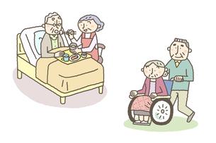 高齢者による高齢者の介護の素材 [FYI01041194]