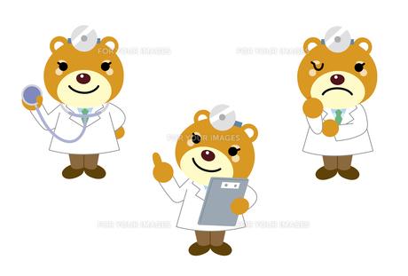 動物のお医者さん、看護師さんの素材 [FYI01041268]