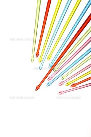 集中する矢印の素材 [FYI01042528]