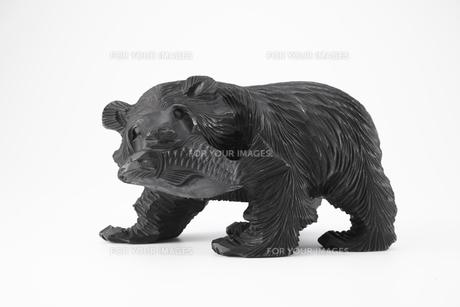 木彫りの熊の素材 [FYI01043341]