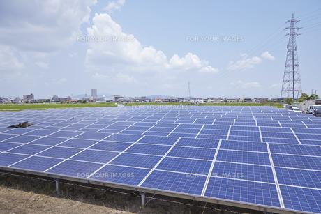 太陽光発電所の素材 [FYI01043764]