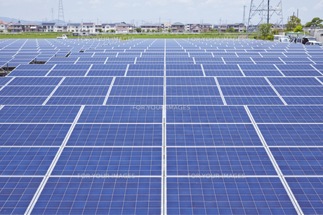 太陽光発電所の素材 [FYI01043776]