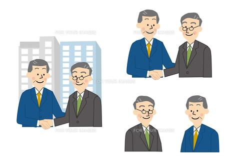 ビジネス 会社 商談 男性の素材 [FYI01043778]