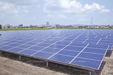 太陽光発電所の素材 [FYI01044045]