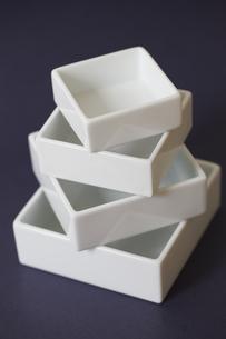 白い角皿の素材 [FYI01044295]