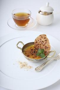 紅茶のブリュレの素材 [FYI01045613]