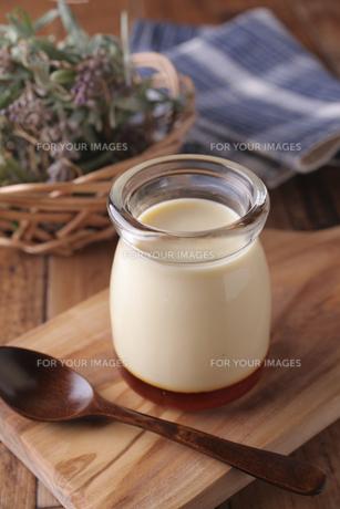 牛乳プリンの素材 [FYI01046022]