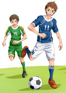 サッカー少年の素材 [FYI01046023]
