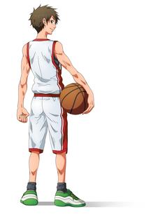 バスケ少年の素材 [FYI01046036]