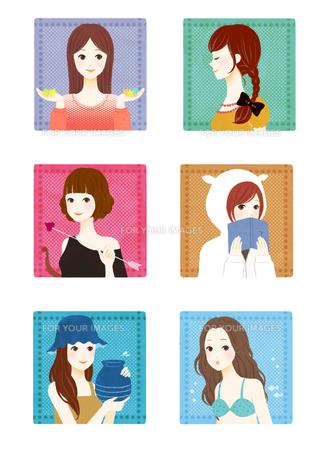 constellation girl2の素材 [FYI01046327]