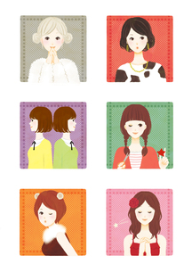 constellation girl1の素材 [FYI01046346]