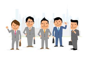 ビジネス集団の素材 [FYI01046643]