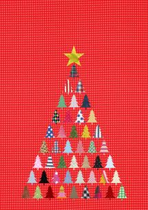 クリスマスツリーの素材 [FYI01046793]