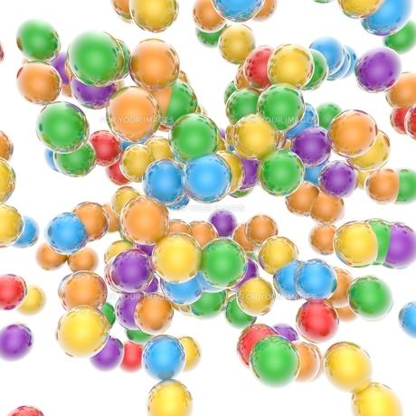 カラフルボールの素材 [FYI01048353]