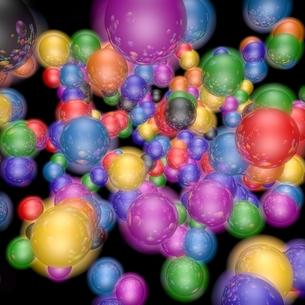 カラフルなボールの素材 [FYI01048404]