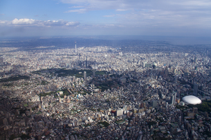 東京スカイツリーの空撮の素材 [FYI01048609]