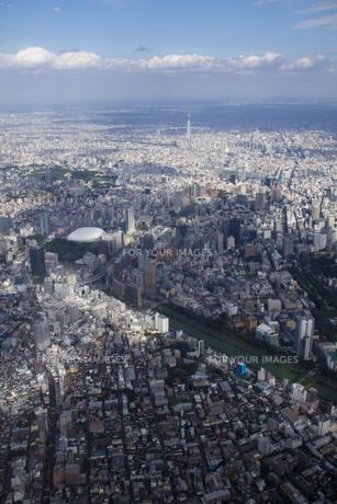 東京スカイツリーの空撮の素材 [FYI01048708]
