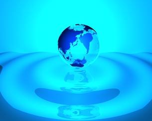 地球のCGイメージの素材 [FYI01048757]