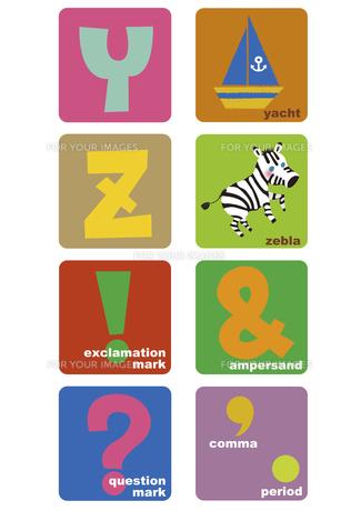 アルファベットYからZの素材 [FYI01051608]