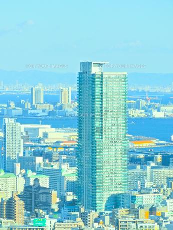 神戸市の街並みの写真素材 [FYI01052332]