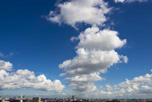 連なる雲(光が丘方面)の素材 [FYI01055885]