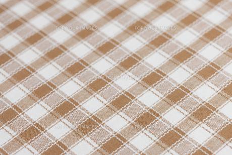 チェック柄の布の素材 [FYI01058173]