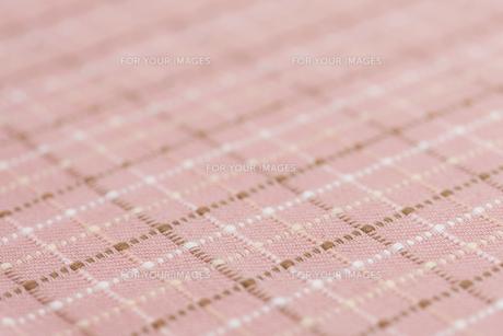 チェック柄の布の素材 [FYI01058185]