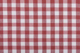 ギンガムチェックの布の素材 [FYI01058199]