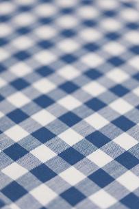 ギンガムチェックの布の素材 [FYI01058628]