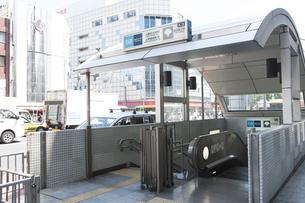 上野広小路駅、上野御徒町駅A3出口の素材 [FYI01058736]
