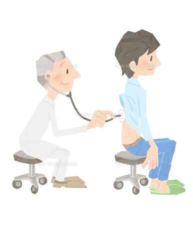 先生と患者の素材 [FYI01059994]