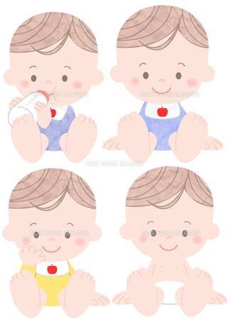 赤ちゃんの素材 [FYI01059996]